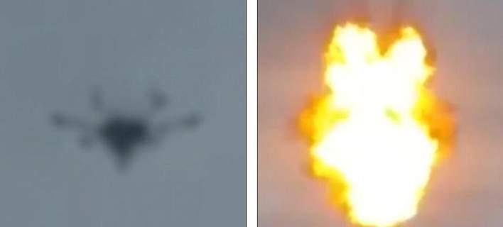 Η στιγμή που το drone εκρήγνυται πάνω από την εκδήλωση, όπου μιλούσε ο Μαδούρο [βίντεο]