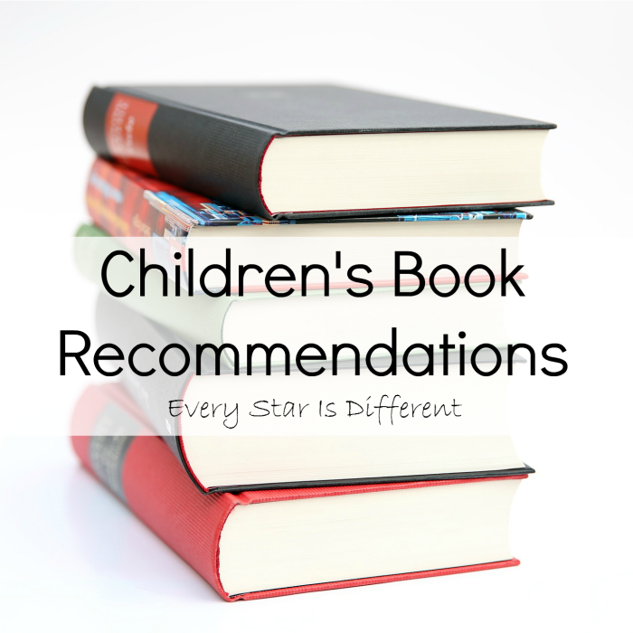 Book Recommendations for Kids