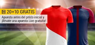 bwin promocion 10 euros Monaco vs PSG 26 noviembre