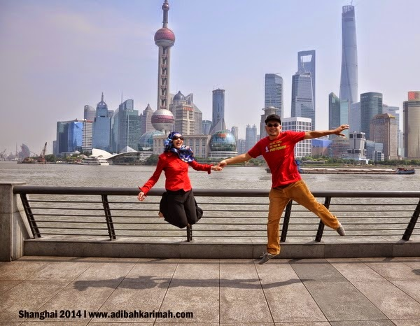Video klip di Shanghai bersama Awesomazing Team