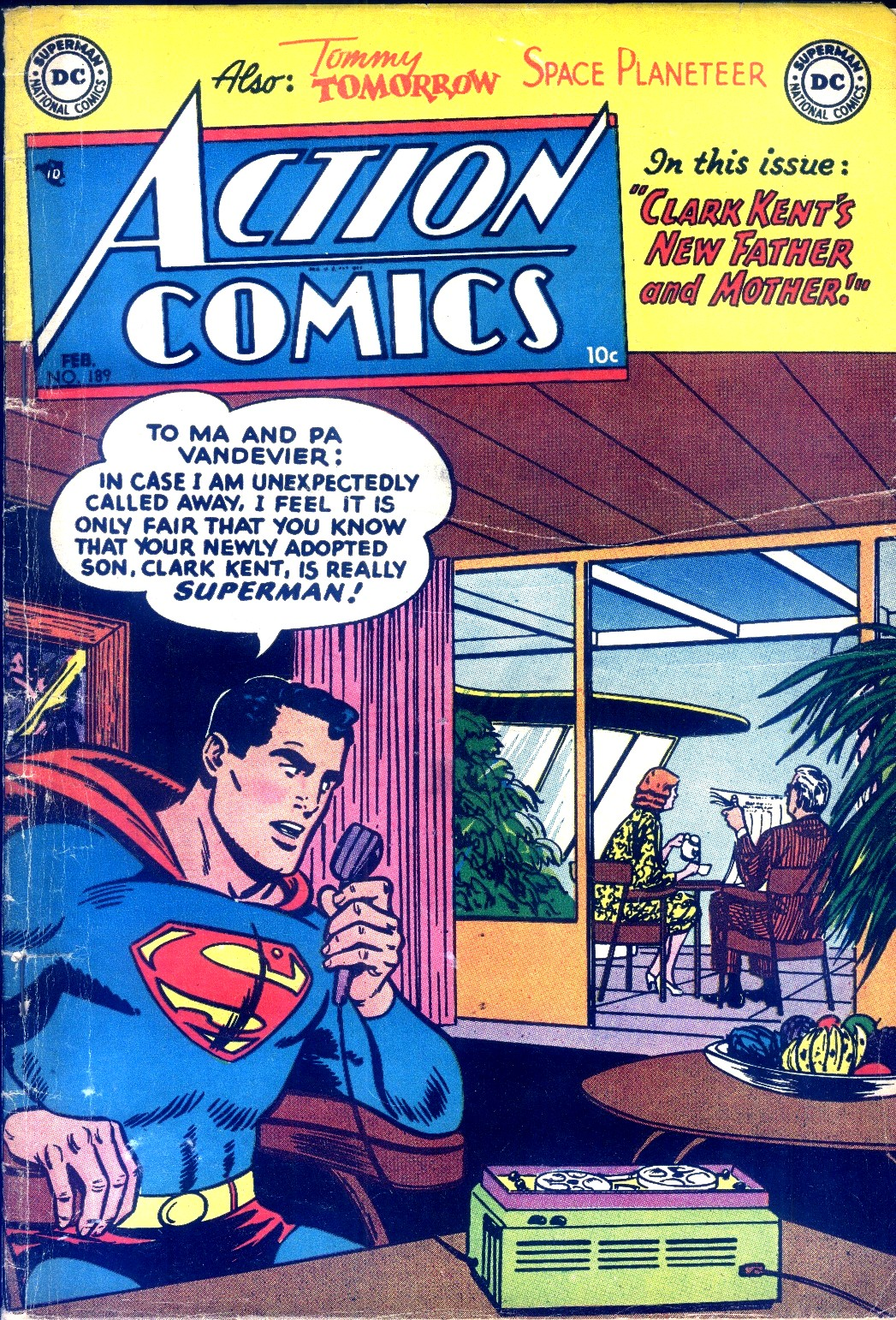 Read online Action Comics (1938) comic -  Issue #189 - 1