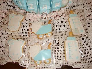 Galletas decoradas motivos bebe