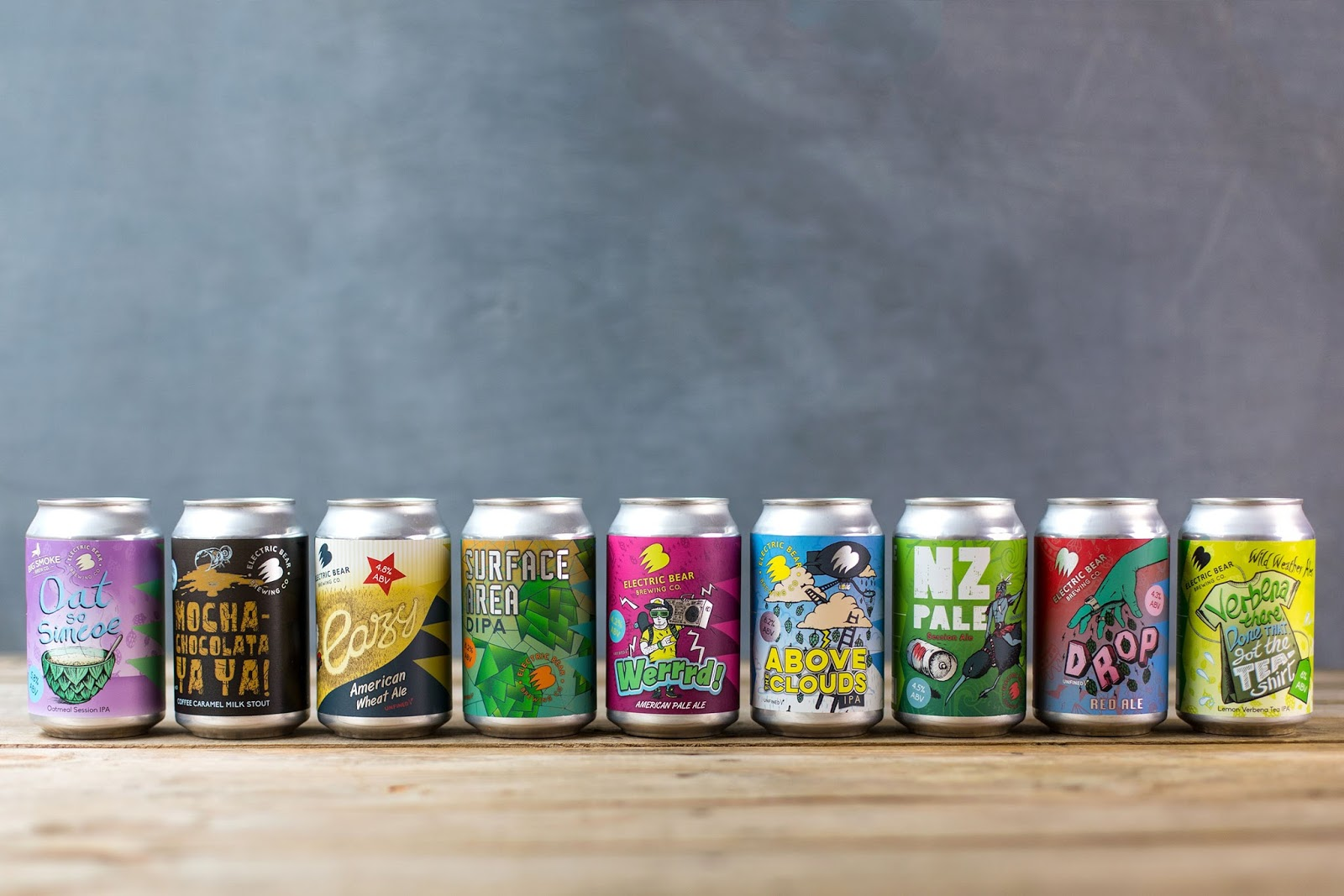 Electric Bear Brewing Company On Packaging Of The World Creative
