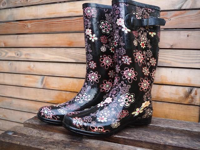Bottes de pluies originales et élégantes pas cher  pour femmes, mode hiver 2019