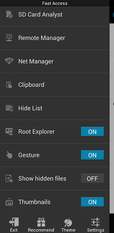 es file root explorer