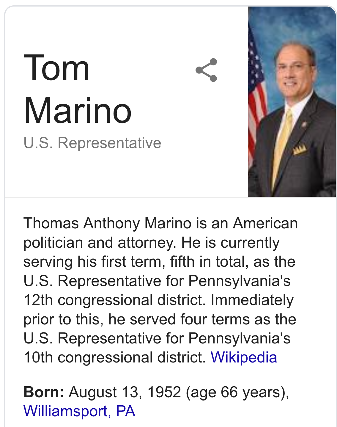Thomas marino resigns