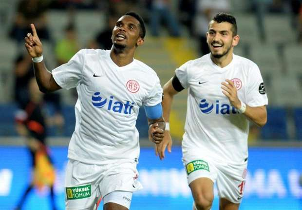 Samuel Eto'o et Makoun vs Galatasaray