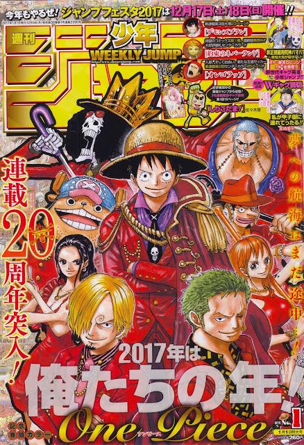 Weekly Shonen Jump 1 2017.