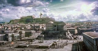 Αποτέλεσμα εικόνας για ancient greek city painting
