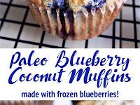 Paleo Blueberry Cococnut Muffins