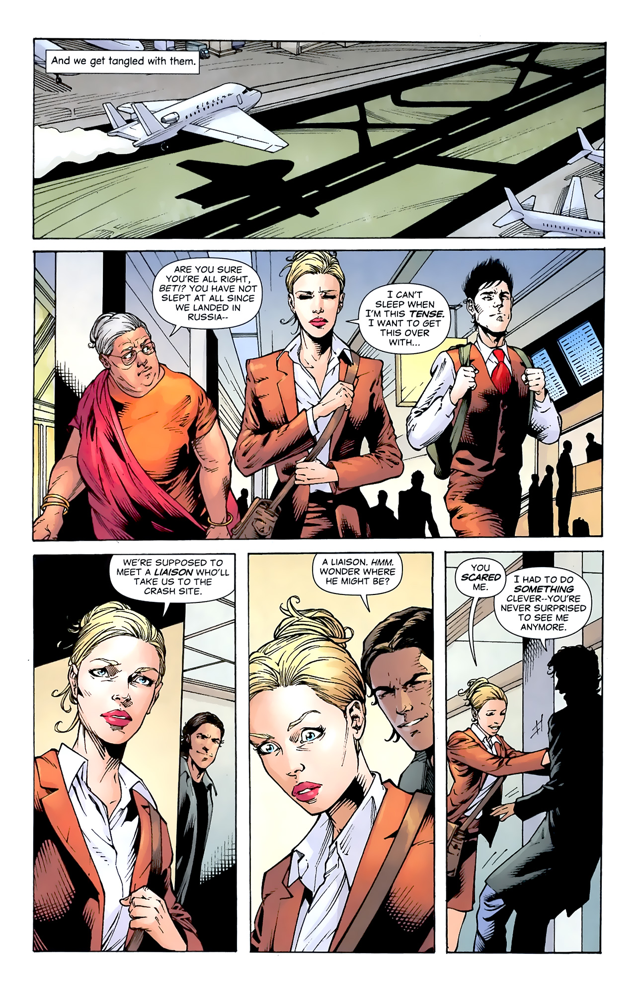 Read online Air comic -  Issue #20 - 12