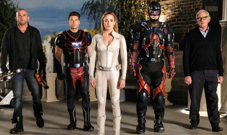 Legends of Tomorrow - Episode 3.06 - Helen Hunt - Promo, Sneak Peeks, Promotional Photos, Interview & Press Release