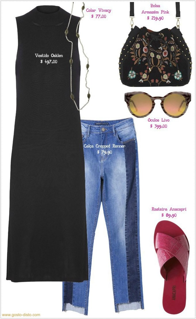 Como usar e abusar de um vestido midi preto básico