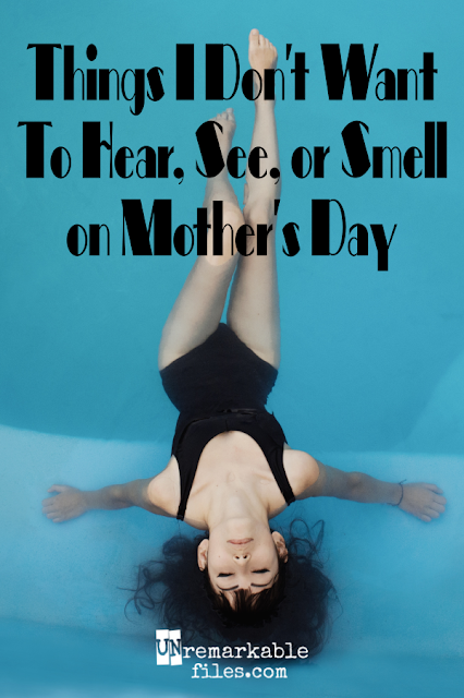 Motherhood can be described in two words: sensory overload.   {posted @ Unremarkable Files}