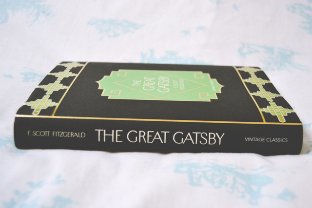 Vintage Classics hardcover edition of The Great Gatsby