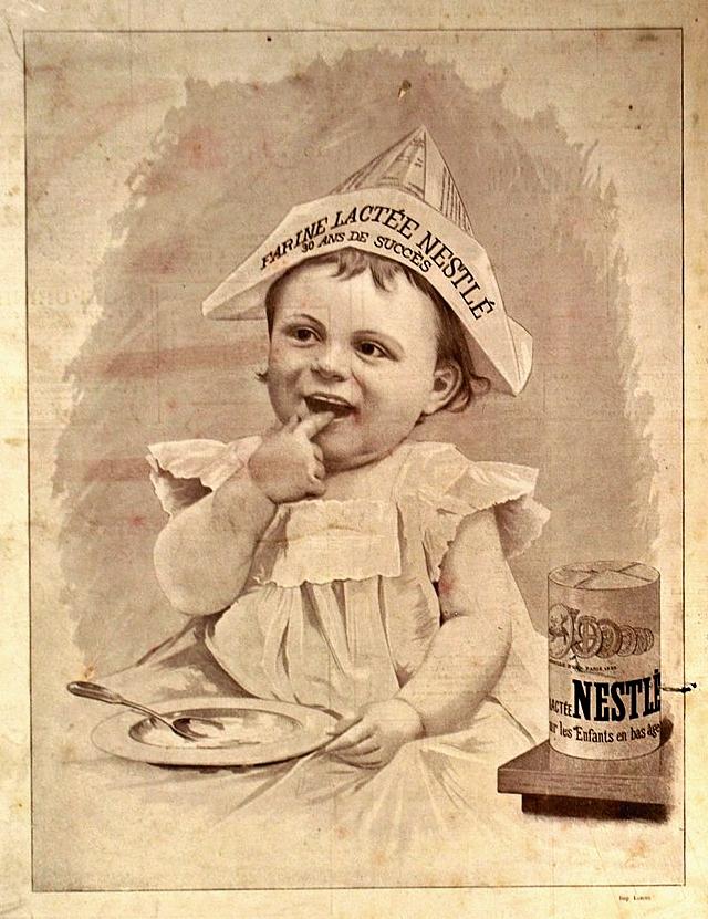 Nestlé advertisement 1900