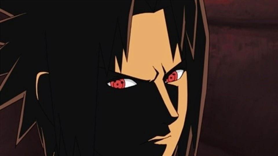 Sasuke aparece frente a Sai