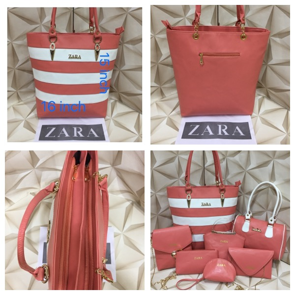 41d85843d44d Branded Products: Zara Bags, 7 piece combo, 6 Designs