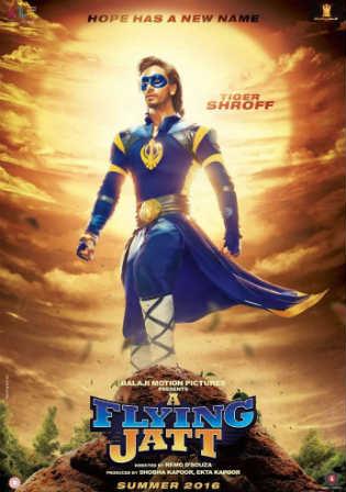 A Flying Jatt 2016 WEB-DL 350MB Full Hindi Movie Download 480p Watch Online Free bolly4u