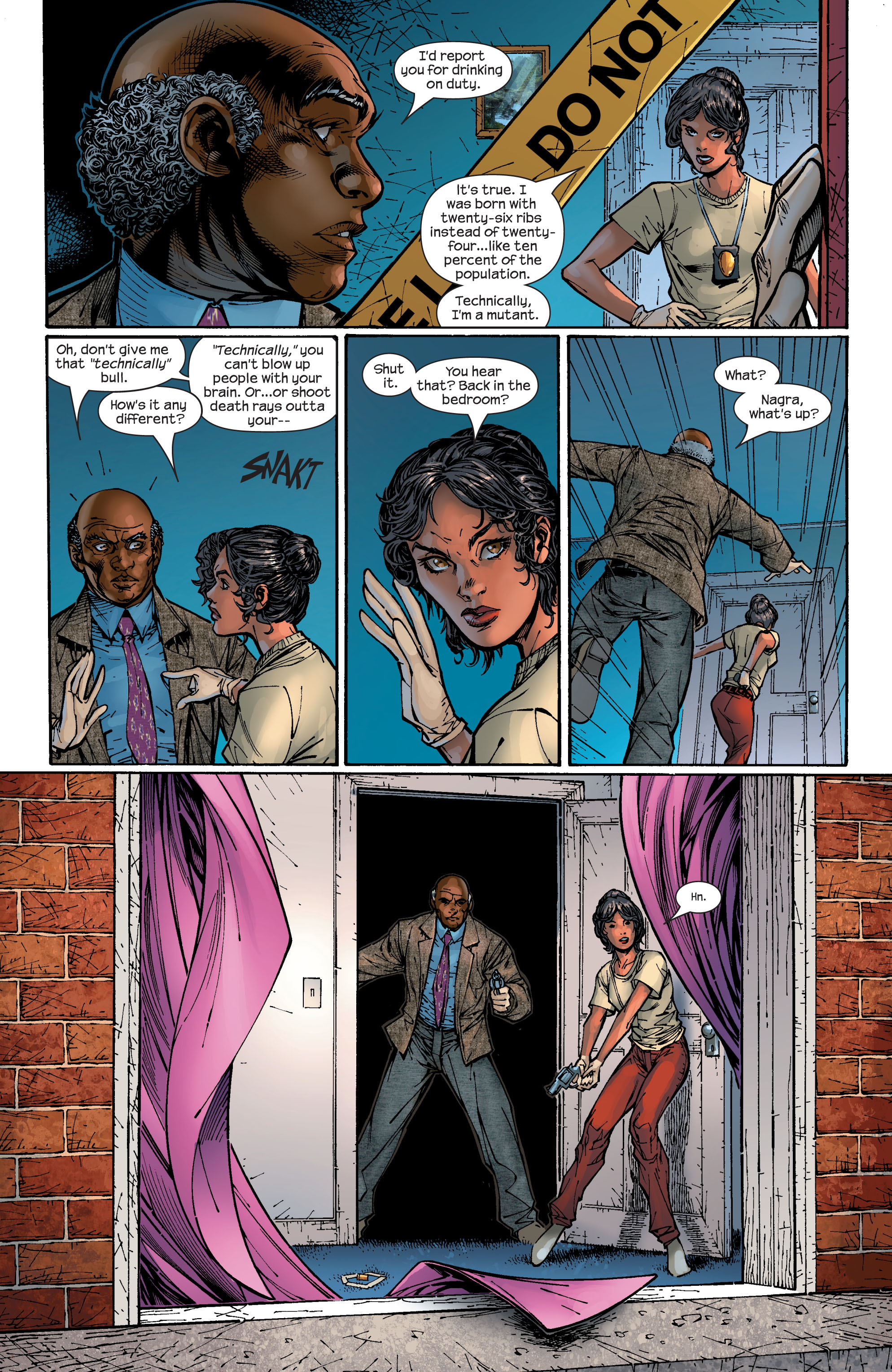 Read online Ultimate X-Men comic -  Issue #47 - 10