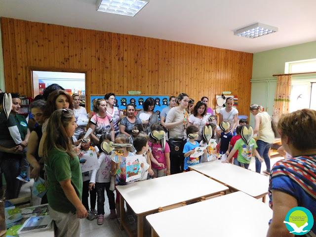 Επίσκεψη του Φορέα Διαχείρισης Καλαμά - Αχέροντα στο Β' Νηπιαγωγείο Παραμυθιάς (+ΦΩΤΟ)