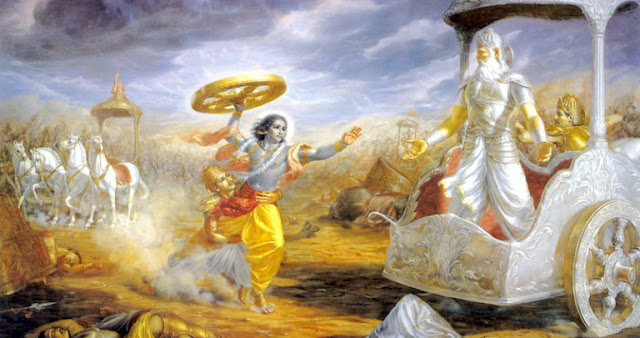 Mahabharata War, 16th October 5561 B.C.. Did The Indians Use The Atomic Bomb?