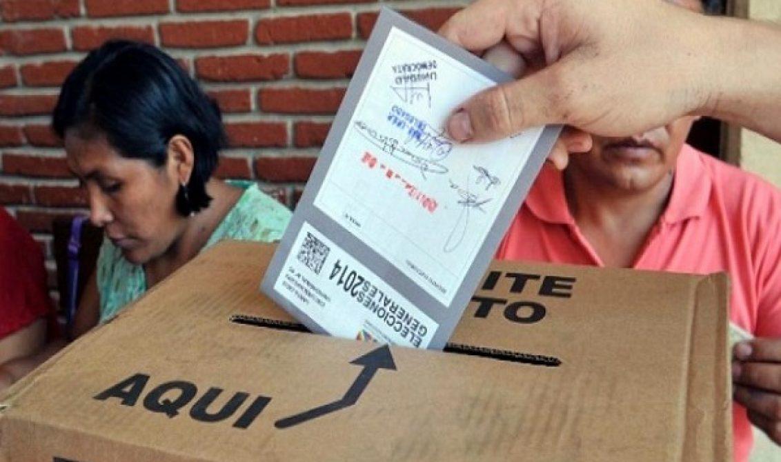 Las papeletas de los partidos tienden a inscribir un solo candidato elegible / ARCHIVO WEB