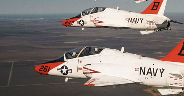 Navy training aircraft reported missing after jet crash