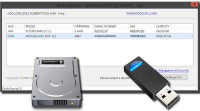 Utilidad para formatear a bajo nivel discos duros y unidades de almacenamiento