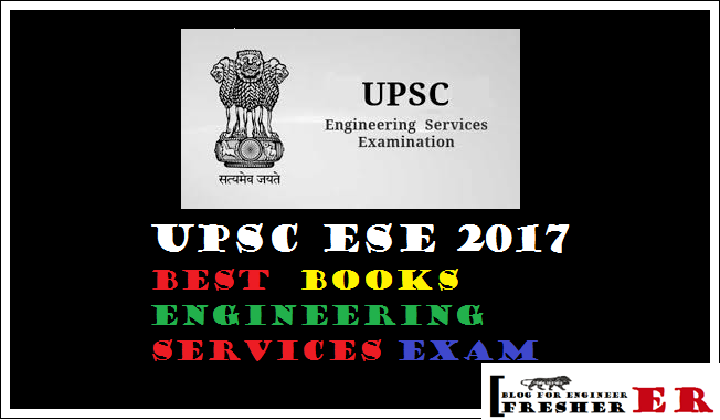 UPSC ESE 2017 Best  Books Engineering Services Exam