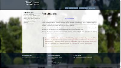 Помощь волонтеров на съезде бахаи