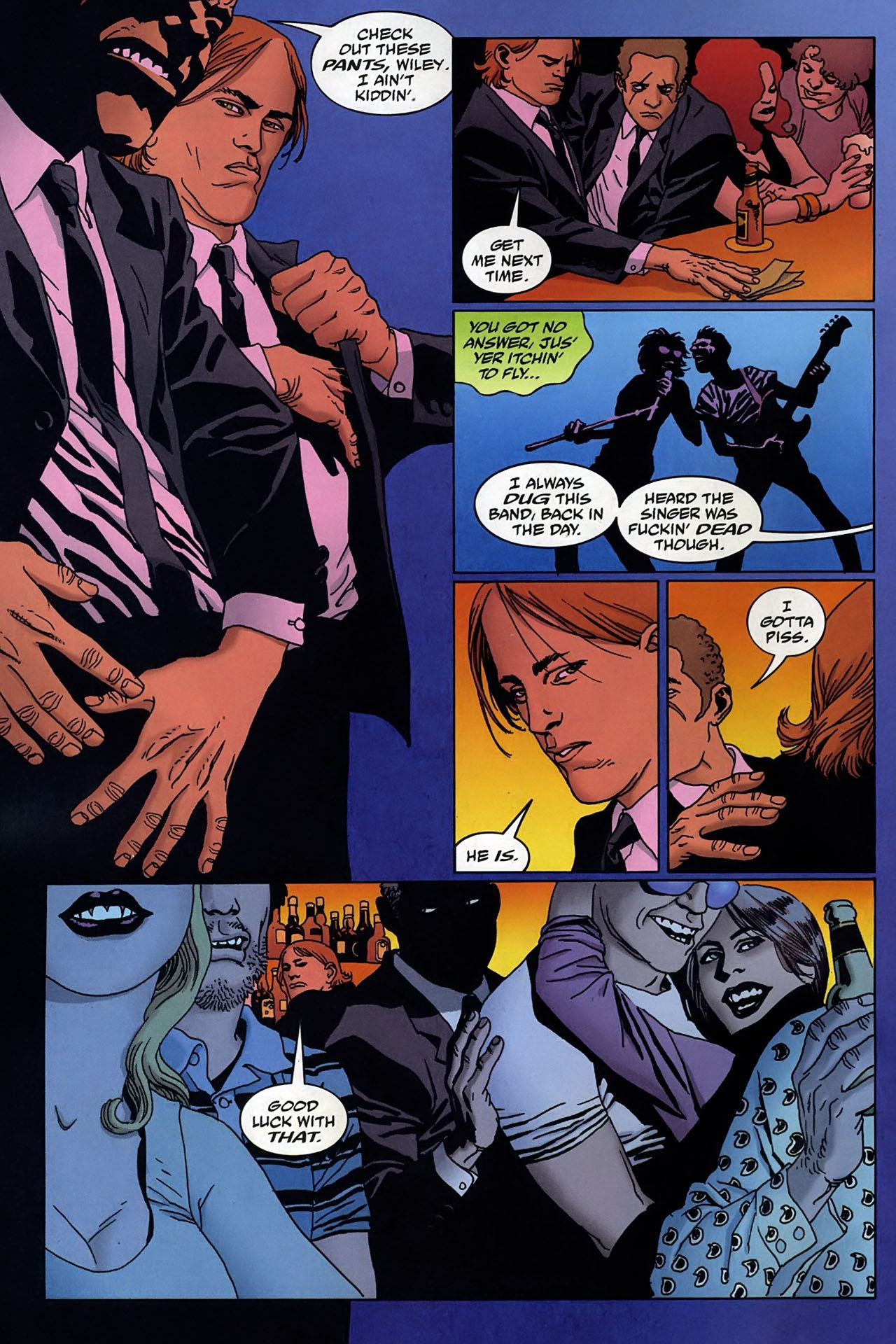 Read online 100 Bullets comic -  Issue #95 - 3