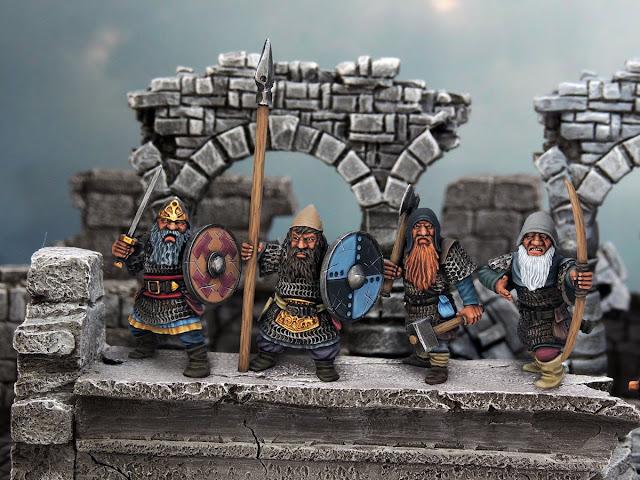 Plastic Fantasy Dwarf Miniatures Northstar Miniatures Osprey Games