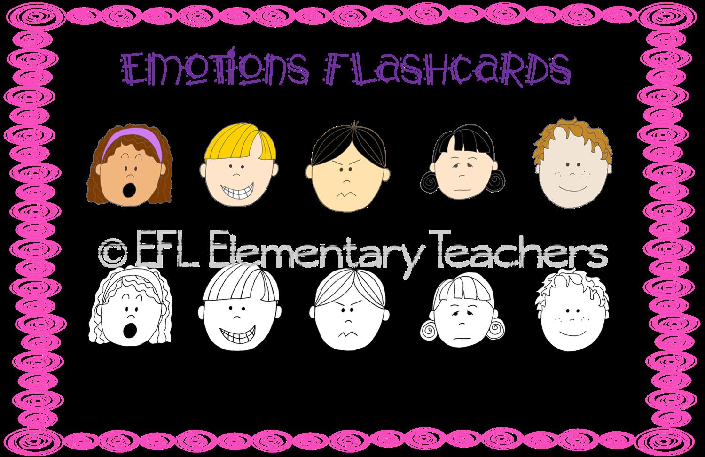 Efl Elementary Teachers Feelings And Emotions Activities