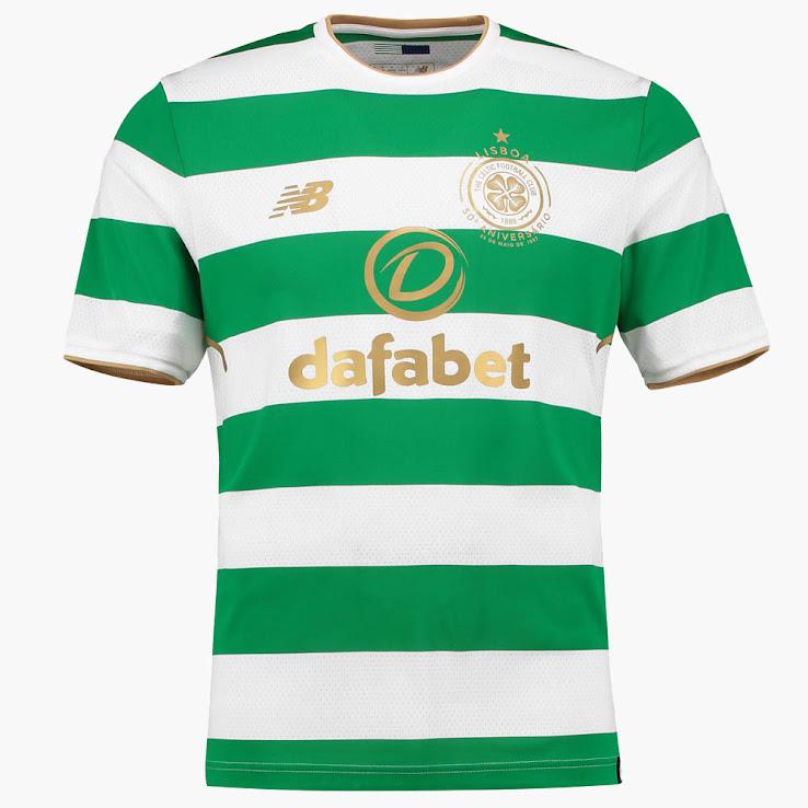 Celtic Released Three Greenish Kits For the 2017-2018 Season 183a52027