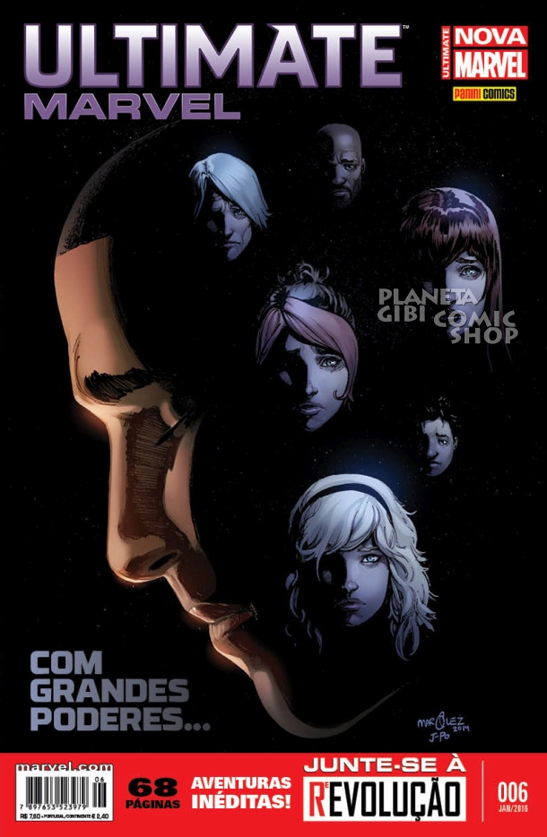 Checklist Marvel/Panini (Julho/2019 - pág.08) - Página 3 ULTIMATE%2BMARVEL%2B6