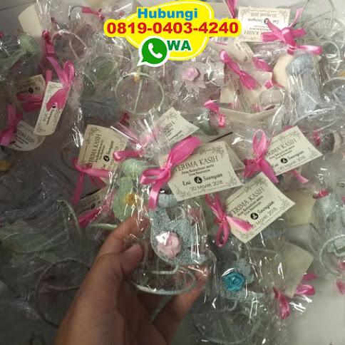 souvenir lilin gelas di jakarta 52090