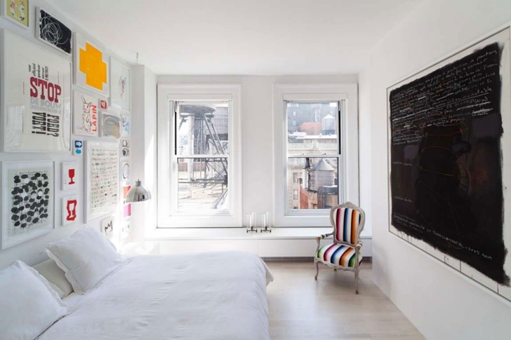 "Small bedroom in Modern New York Apartment by ""Resolution: 4 Architecture"""