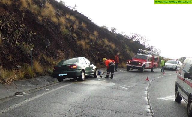 Otro accidente más hoy en en tramo de doble vía de La Grama