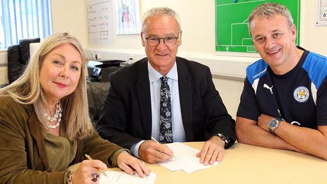 Leicester Berikan Perpanjang Kontrak Kepada Claudio Ranieri