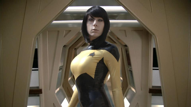data big tits cosplay star trek