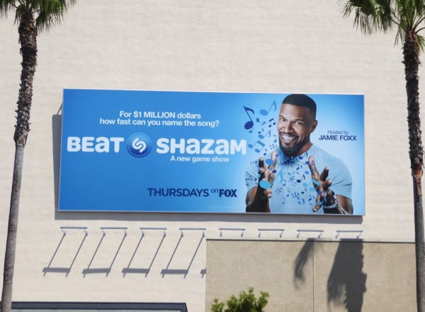 Jamie Foxx Beat Shazam season 1 billboard