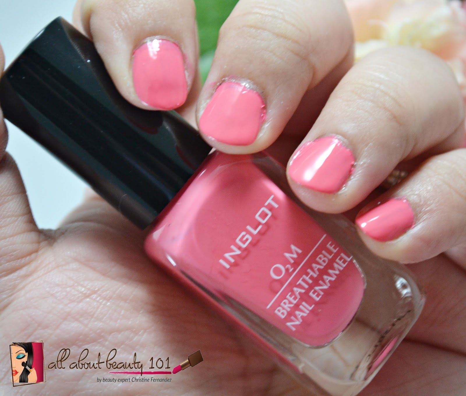 Inglot: O2M Breathable Nail Enamel in 683 | All About Beauty 101