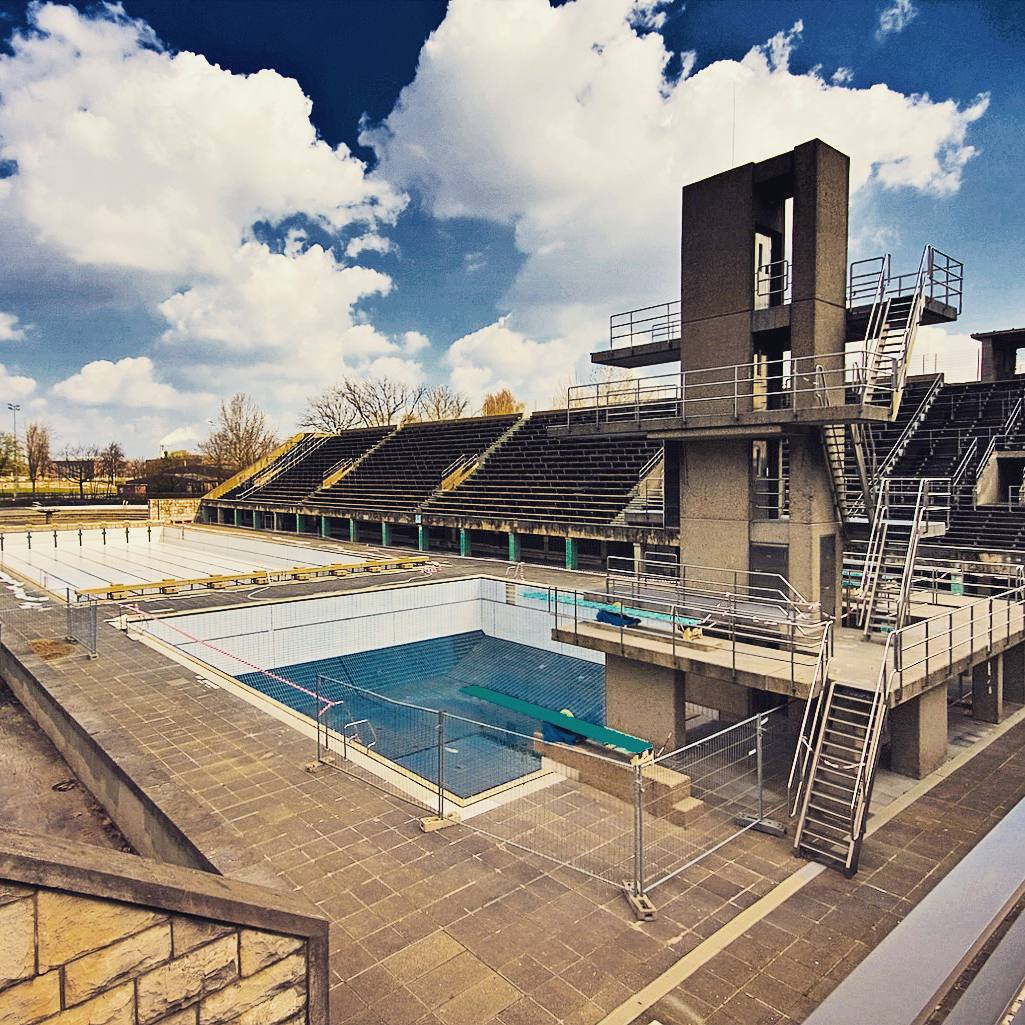 Olympic Swimming Pool In Person: Olympiastadion : Make An Olympic Splash This Summer
