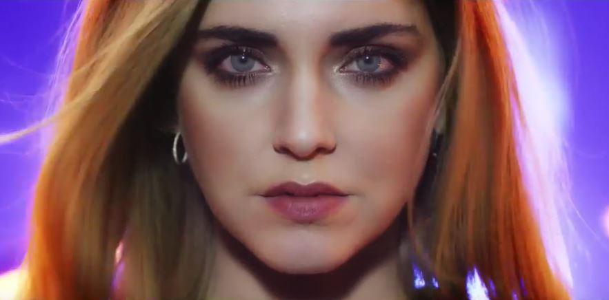 Modella Chiara Ferragni pubblicità The Shock Black Opium e Mascara con Foto - Maggio 2017