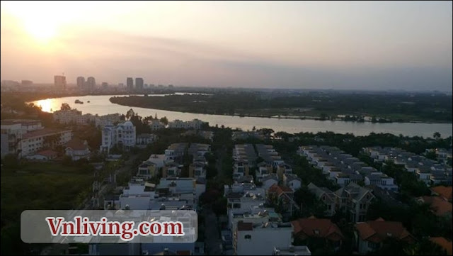 The Vista Apartment for rent 2 bedrooms fully furnished saigon riverview