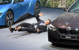 bmw ceo collapses