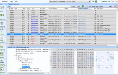 Sniffer Hack Wi-Fi menggunakan Wireshark