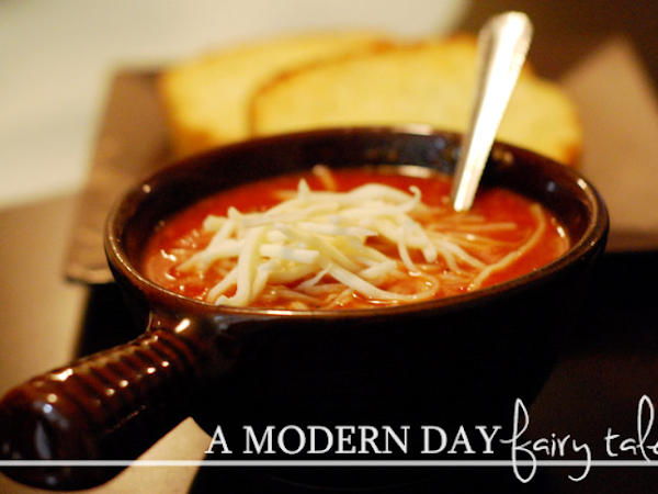 Beat the Winter Blues with Homemade Tomato Soup {A #Flashback Friday Recipe}