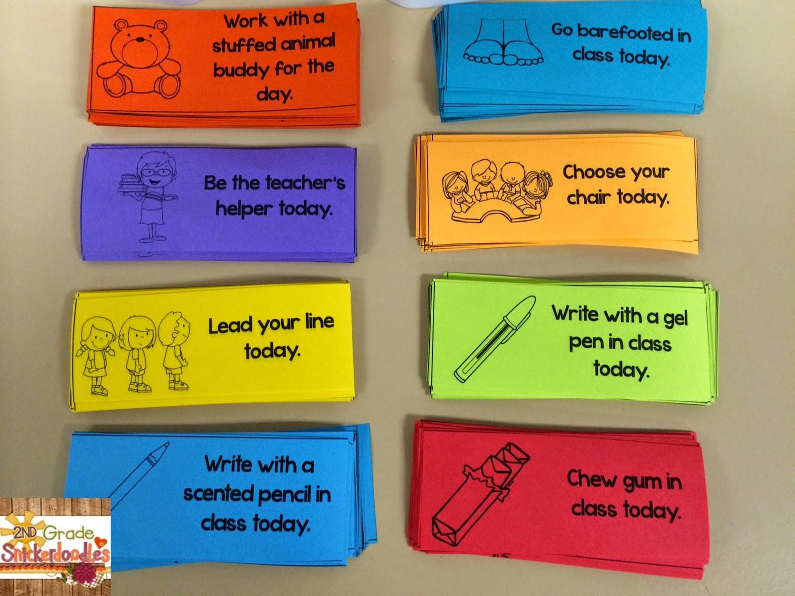 2nd Grade Snickerdoodles: Behavior Management Tips {Freebie}